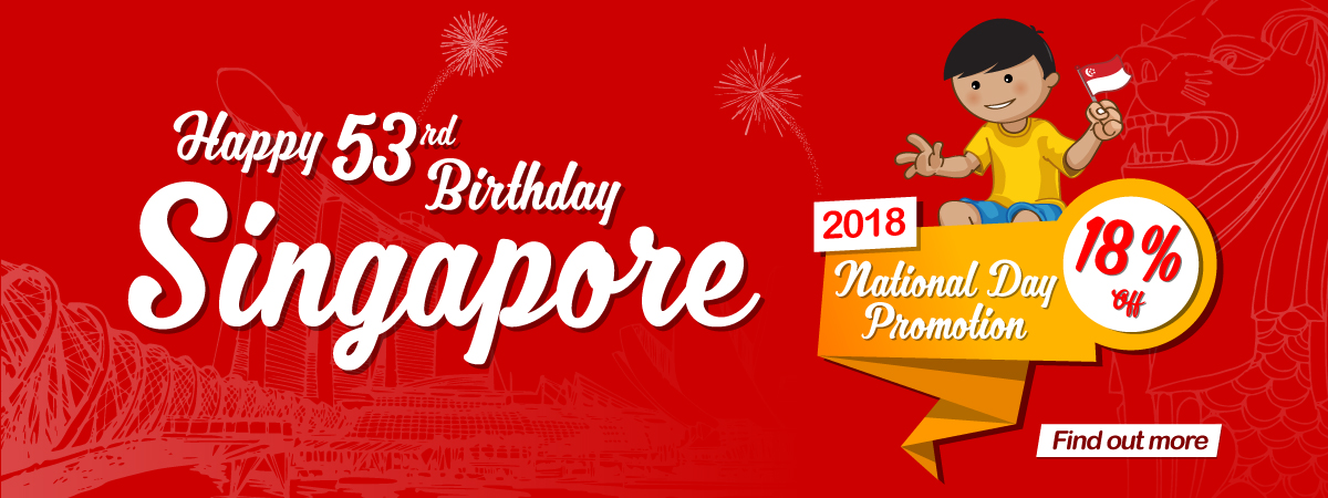 National Day Promotion 2018